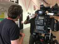 Ivo filming at LCC2