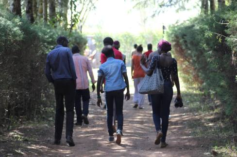 "Documenting ""Catwalk to Freedom"", Kitale, Kenya"