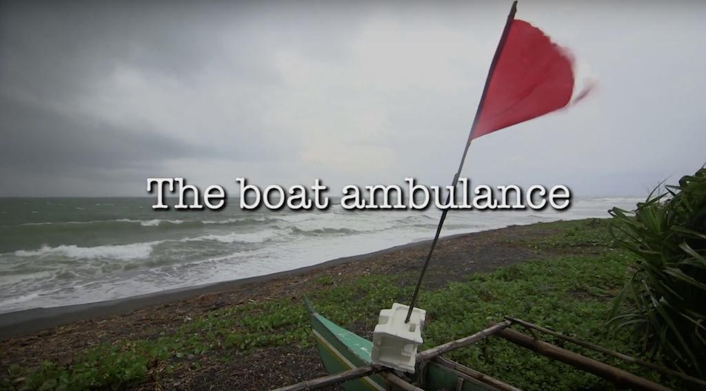 ActionAide Ambulance Boat
