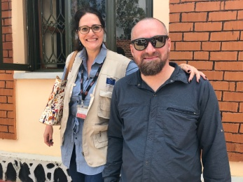 Christian and Grazia Paoleri DRC Uganda